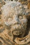 Estátua dos diabos no inferno. imagens de stock
