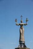 A estátua dos impérios no lago Konstanz Imagem de Stock Royalty Free