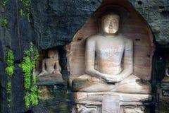 Estátua dos Jainists Foto de Stock Royalty Free