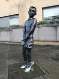 Estátua dos meninos de Gorbals por Liz Peden imagem de stock royalty free