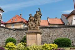 Estátua dos soldados Foto de Stock Royalty Free