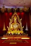 estátua dourada histórica da Buda Imagem de Stock Royalty Free