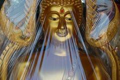 Estátua dourada nova Fotos de Stock