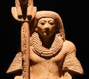 Estátua egípcia antiga, museu de Luxor em Egito imagens de stock