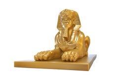 Estátua egípcia da esfinge Fotografia de Stock