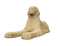 Estátua egípcia da esfinge Foto de Stock Royalty Free