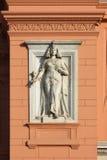 Estátua egípcia no museu no Cairo Imagem de Stock