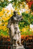 Estátua em Cesky Krumlov, República Checa Fotografia de Stock