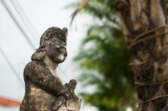 Estátua em Indonésia Fotografia de Stock