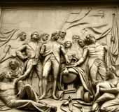 Estátua em Londres Foto de Stock