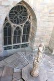 Estátua em Milan Cathedral, Milão, Itália Imagem de Stock Royalty Free