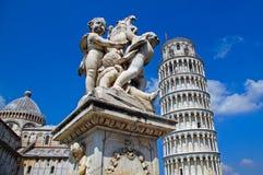 Estátua em Pisa Fotografia de Stock Royalty Free