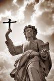 Estátua em Sicília fotos de stock royalty free
