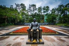 Estátua em Sun Yat-sen nacional Memorial Hall nos Di de Xinyi Foto de Stock Royalty Free