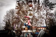Estátua em um parque de diversões, Kropyvnytskyi do pirata, Ucrânia Imagens de Stock Royalty Free