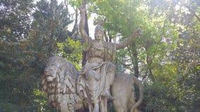 Estátua em Veneza Imagens de Stock Royalty Free