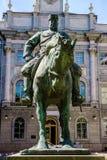 Estátua equestre ao imperador Alexander III, St Petersburg foto de stock royalty free