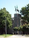 Estátua equestre de Wilhelm Ii Fotografia de Stock Royalty Free