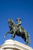 Estátua equestre do imperador Pedro fotos de stock royalty free