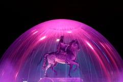 Estátua equestre do rei Louis XIV Imagem de Stock Royalty Free
