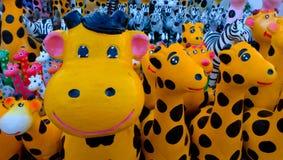 Estátua estes animais bonitos Imagens de Stock