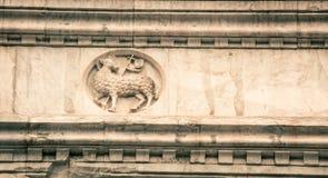 Estátua Florença do cordeiro Imagens de Stock Royalty Free