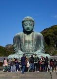Estátua gigante da Buda em Kamakura, Japão Imagem de Stock