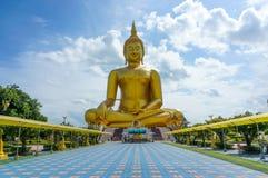 Estátua gigante de buddha Fotografia de Stock Royalty Free