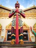 Estátua gigante do guardião Imagem de Stock