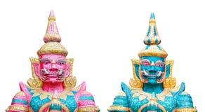 Estátua gigante gêmea Foto de Stock