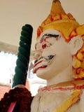Estátua gigante no templo de Tailândia Imagem de Stock Royalty Free