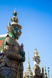 Estátua gigante tailandesa Fotografia de Stock