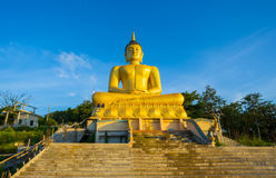 Estátua grande da Buda em laos Fotografia de Stock