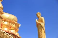 Estátua grande de Buddha Fotos de Stock Royalty Free