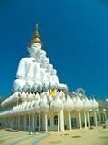 Estátua grande de cinco buddha Foto de Stock