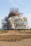 Estátua grande do ganesha sob a construção imagens de stock royalty free