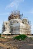 Estátua grande do ganesha sob a construção imagens de stock