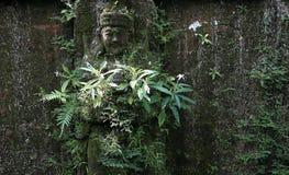 Estátua hindu esquecida Fotografia de Stock Royalty Free