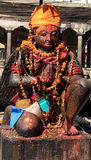 Estátua hindu - Patan Fotos de Stock Royalty Free