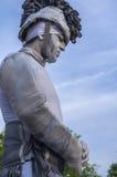 Estátua humana viva imagem de stock royalty free