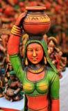 Estátua indiana da senhora Foto de Stock
