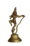 Estátua indiana, isolada imagens de stock royalty free