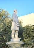 Estátua Jefferson Davis, o memorial de guerra confederado em Dallas, Texas imagens de stock royalty free
