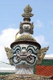 Estátua, kaeo de Wat Phra, Banguecoque, Tailândia imagens de stock royalty free