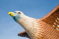 Estátua Langkawi da águia Fotos de Stock Royalty Free