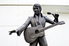 Estátua Las Vegas de Elvis Presley Imagens de Stock