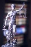 Estátua legal do escritório de advogados Imagem de Stock Royalty Free
