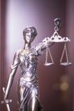Estátua legal do escritório de advogados Foto de Stock