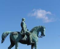 Estátua Liverpool do príncipe Albert fotografia de stock