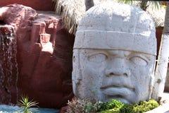 Estátua maia 2 fotos de stock